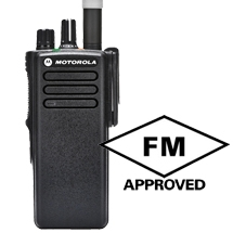 DP4400 VHF or UHF radio FM
