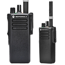 DP4401 VHF or UHF radio