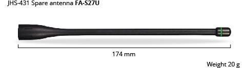 JHS-431 antenna dim