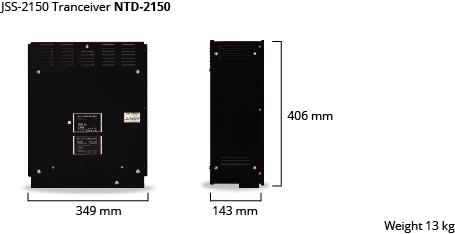 JSS-2150 tranceiver dim