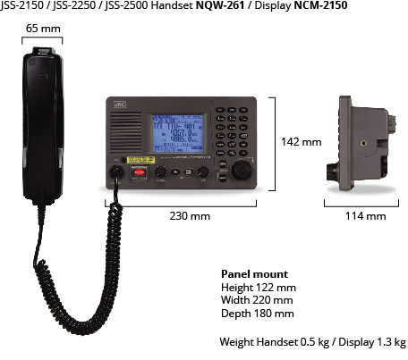 JSS handset display dim