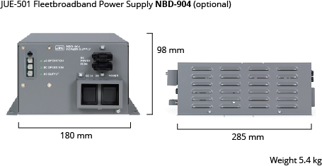 JUE-501 power supply dim