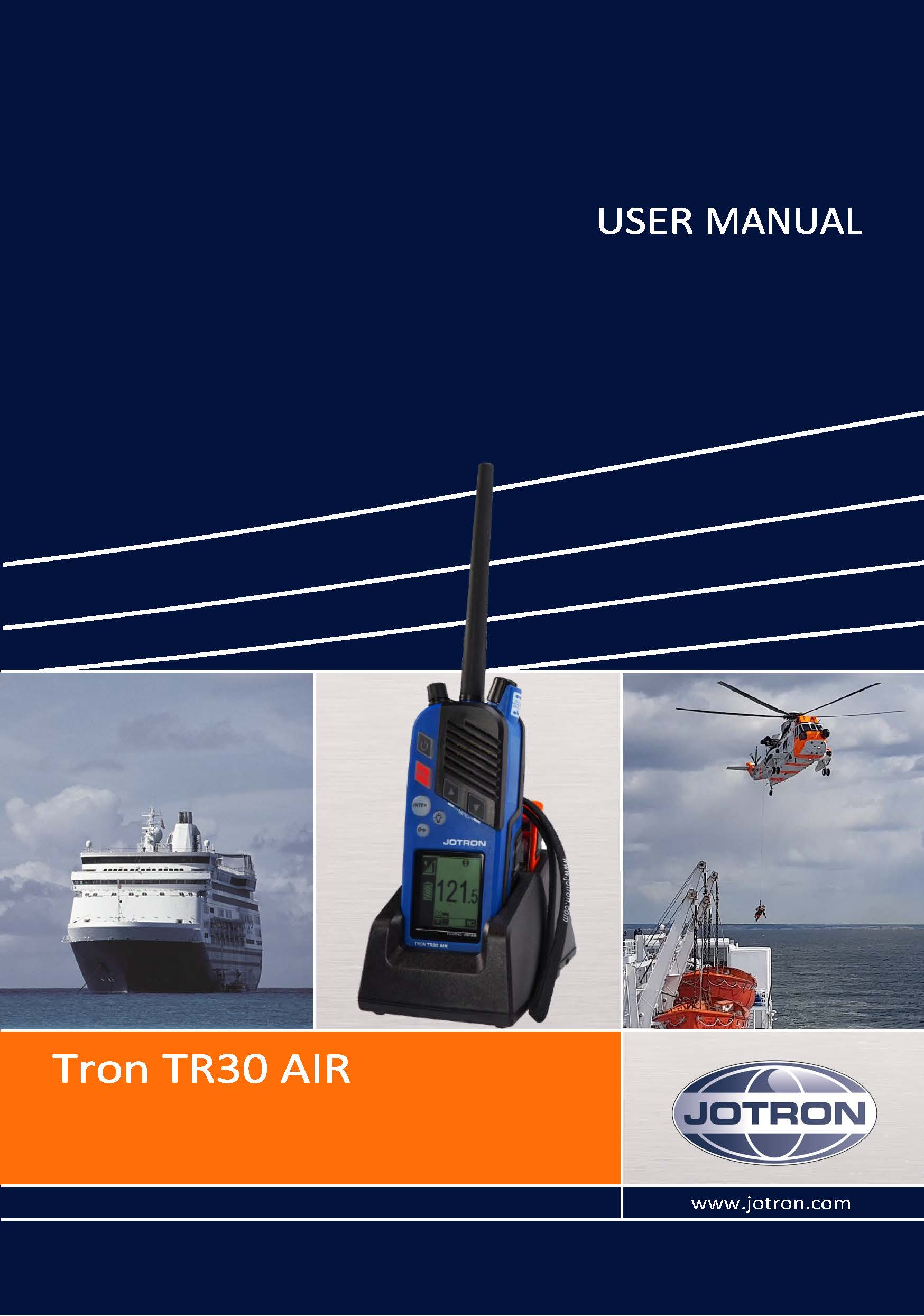 UserManual TR30 frontpage
