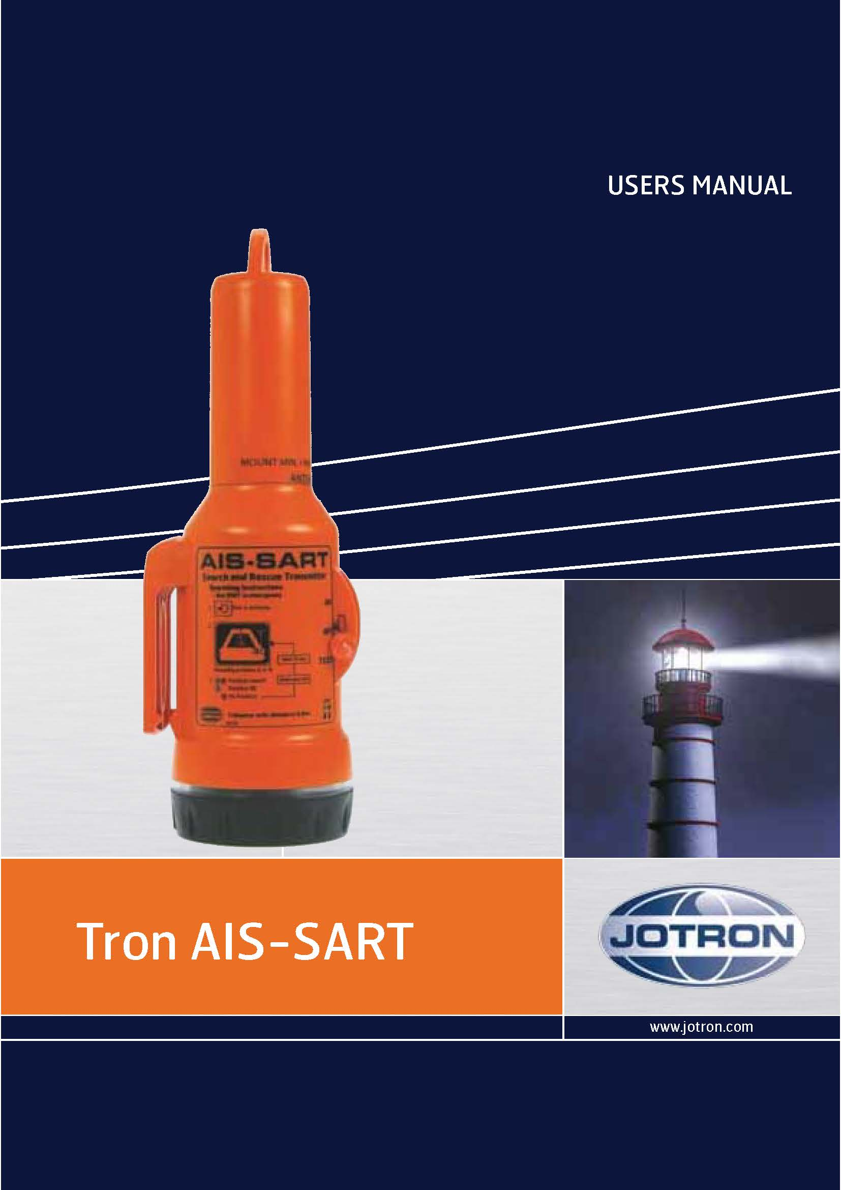 users manual tron ais sart forside
