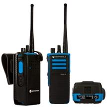 DP4401 Ex VHF or UHF radio GPS