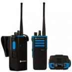 DP4801 Ex VHF or UHF radio GPS
